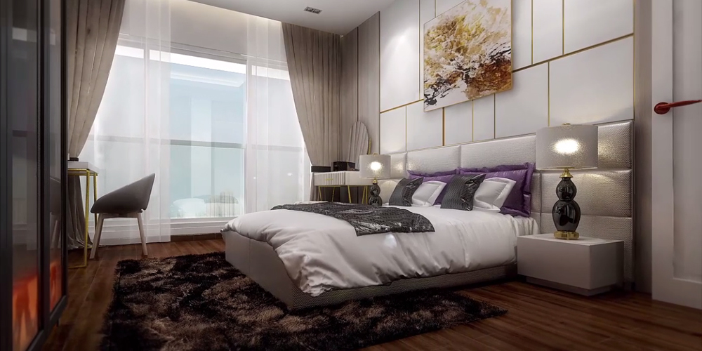 3BHK Spacious Bedroom