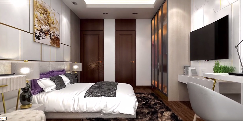 3BHK Luxurious Bedroom