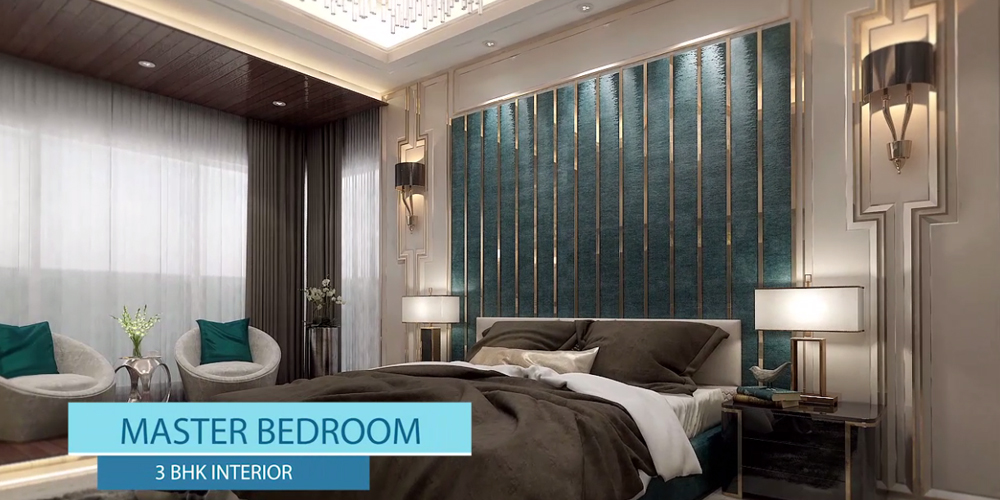3BHK Spacious Master Bedroom