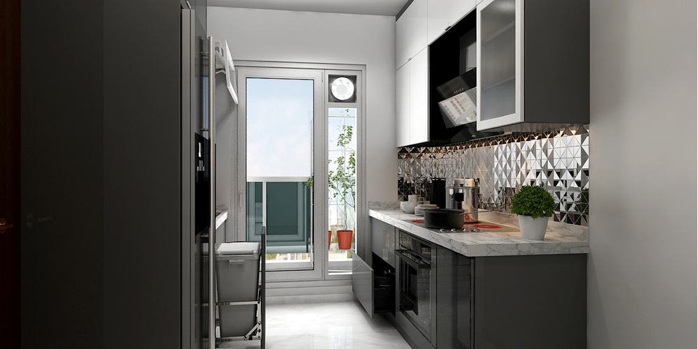 3BHK Modular Kitchen